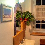 Salle d'eau de la chambre bleue
